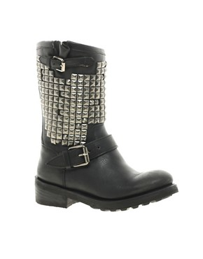 Image 1 ofAsh Trash Mid Stud Biker Boots