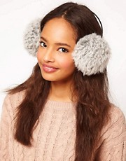 ASOS Faux Shearling Earmuffs