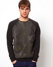 River Island Camo Sweat