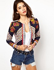 ASOS Jacket in Mix Print