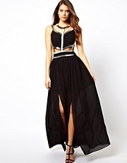 True Decadence Maxi Dress with Embellishment