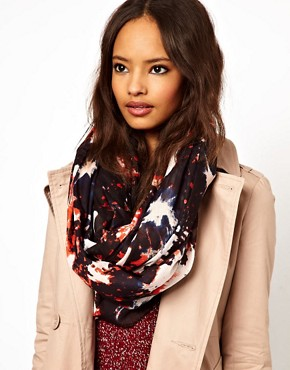 Image 1 ofASOS Galactic Print Snood