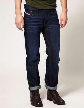Image 1 ofDiesel Larkee 73N Straight Jeans