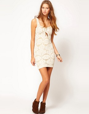 Image 4 ofFree People Medallion Bodycon Dress
