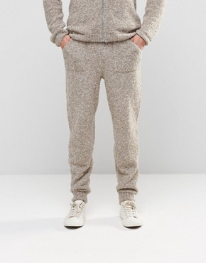 ASOS Knitted Joggers in Teddy Yarn