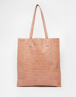 ASOS Croc Shopper Bag