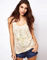 ASOS Studded Cross Tank