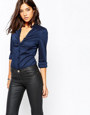 Sisley Rouched Front Shirt