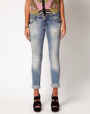 Image 1 ofRiver Island Skinny Molly Jeans