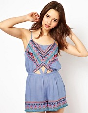 River Island Harrier Coachella Playsuit