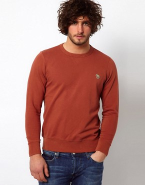 Image 1 ofPaul Smith Jeans Sweatshirt with Zebra