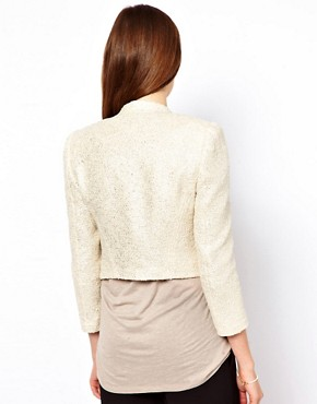 Image 2 ofTed Baker Metallic Boucle Jacket