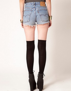 Image 2 ofHearts &amp; Bows Vintage Denim Shorts