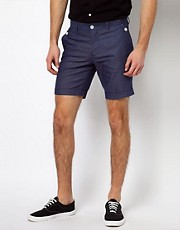Selected  Shorts mit Punktemuster