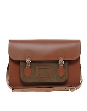 The Cambridge Satchel Company 15&quot; Leather Satchel with Cord Pocket