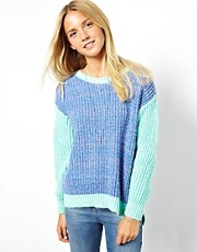 ASOS Jumper In Colour Block
