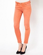 Iro Classic Soft Skinny Jeans in Washed Denim