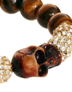 Image 4 ofShimla Skull Bracelet
