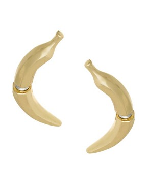 Image 1 ofASOS Banana Ear Tunnels