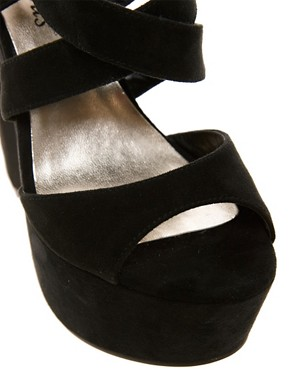 Image 4 of New Look Scraper Platform Sandals