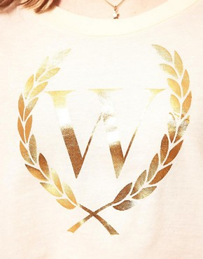Image 3 ofWildfox Beach Club Cropped T-Shirt