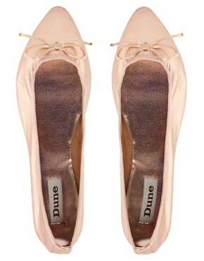 Image 3 ofDune Maddie Flat Pointed Pump