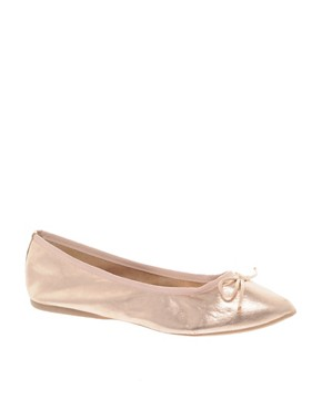 Image 1 ofDune Maddie Flat Pointed Pump