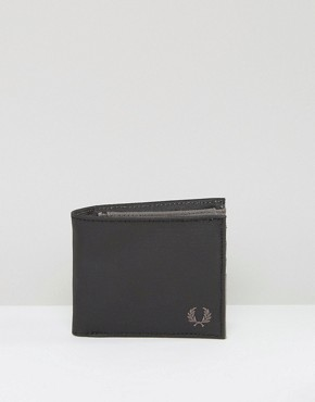 Fred Perry Coated Cotton Billfold Wallet