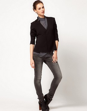 Image 4 ofImprovd Tailored Ponte Jacket