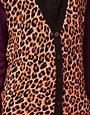 Image 3 ofASOS Leopard Cardigan With Contrast Sleeves