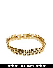 Susan Caplan Exclusive For ASOS Vintage &#39;80s Watchstrap Bracelet