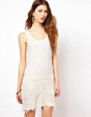 French Connection Texas Tassels Dress