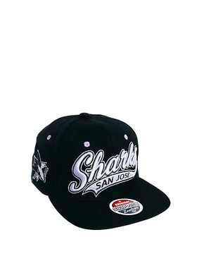 Image 2 ofZephyr Sharks Pastel Snapback Cap