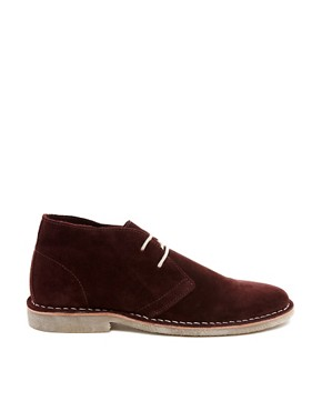 Image 4 ofASOS Desert Boots in Suede