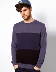 ASOS Sweatshirt 3 Colour Cut And Sew
