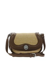 French Connection Weekend Weave Small Crossbody Bag