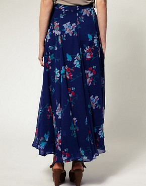 Image 2 ofFrench Connection Sweet Pea Print Maxi Skirt