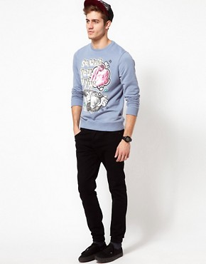 Image 4 ofASOS Sweatshirt With Dream Print