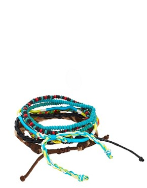 Image 2 ofIcon Brand Beaded Bracelet Pack