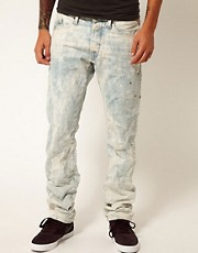 Reply Jeans Laundry Waitom Regular Slim Straight Bleachout