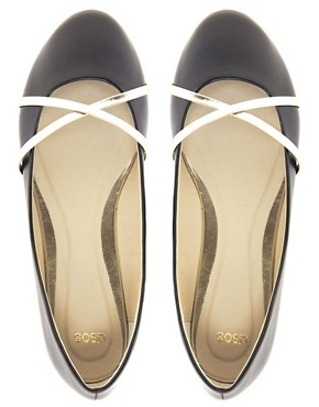 Image 3 of ASOS LAUGH Ballet Flats