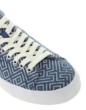 Image 2 ofAdidas Originals Blue Match Play Trainers