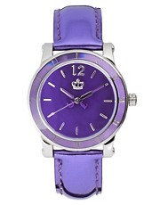 Juicy Couture HRH Metallic Strap Watch