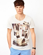 Minimum Photo Collage T-Shirt