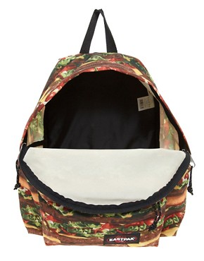 Image 2 ofEastpak Burger Print Authentic Backpack