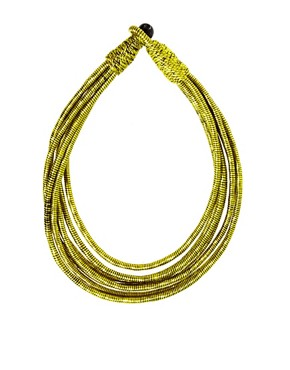 Image 2 ofASOS Silk Wrap Necklace