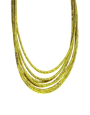 Image 1 ofASOS Silk Wrap Necklace