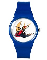 ASOS Watch with Swallow Face