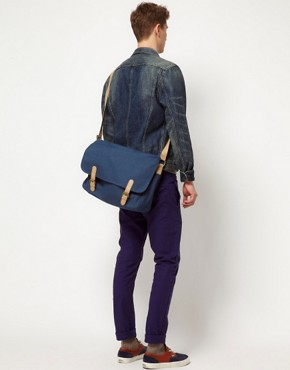 Image 4 ofASOS Canvas Satchel