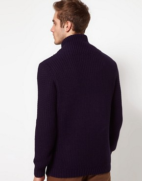 Image 2 ofASOS Shawl Collar Jumper